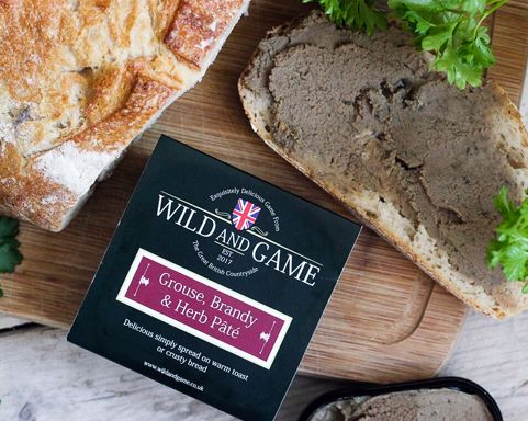 Wild and Game Grouse, Brandy & Herb 120g