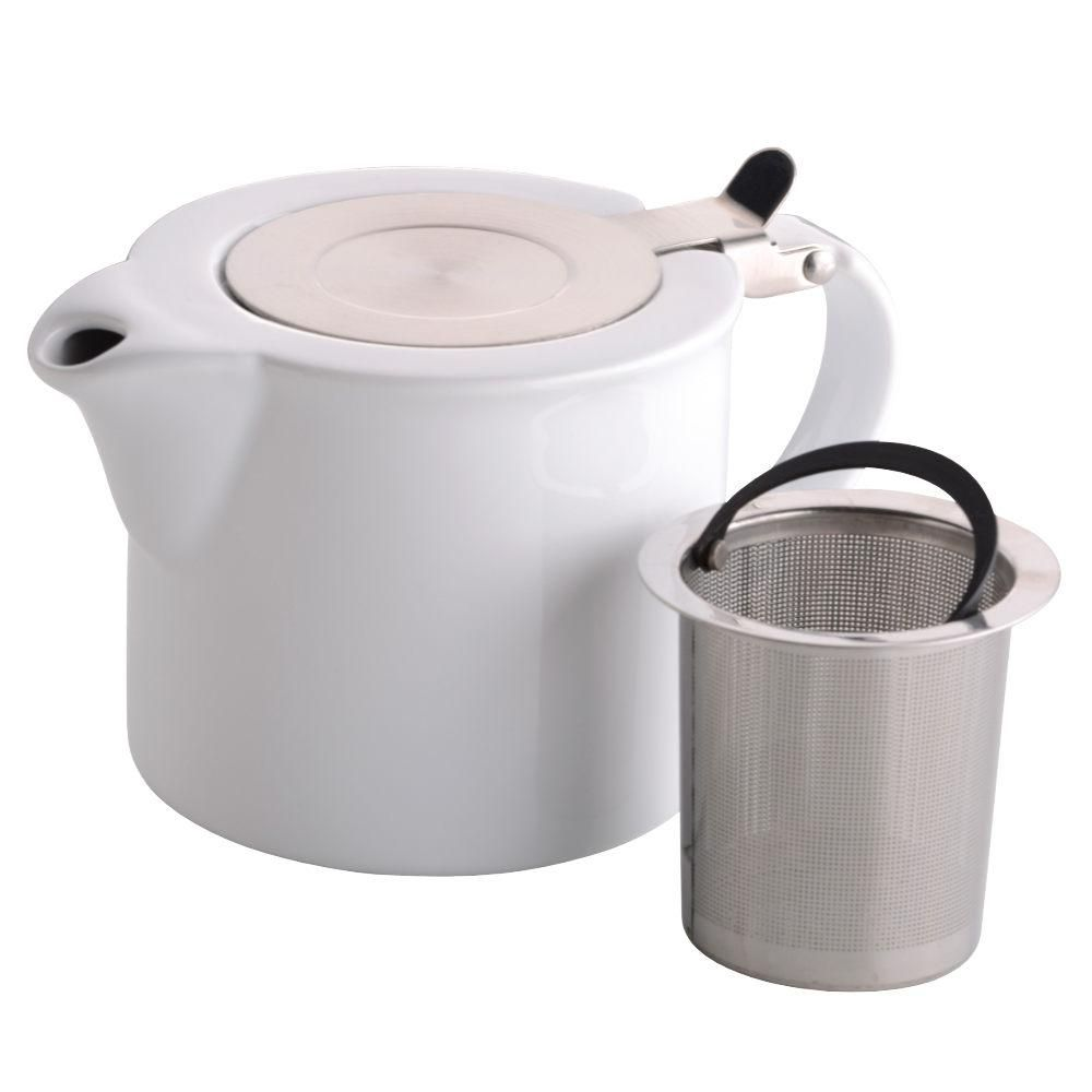 Bia 2 Cup White Infuser Teapot