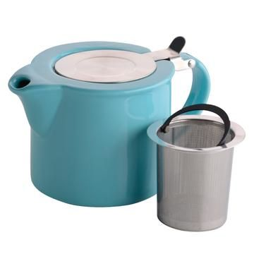 Bia 2 Cup Blue Infuser Teapot