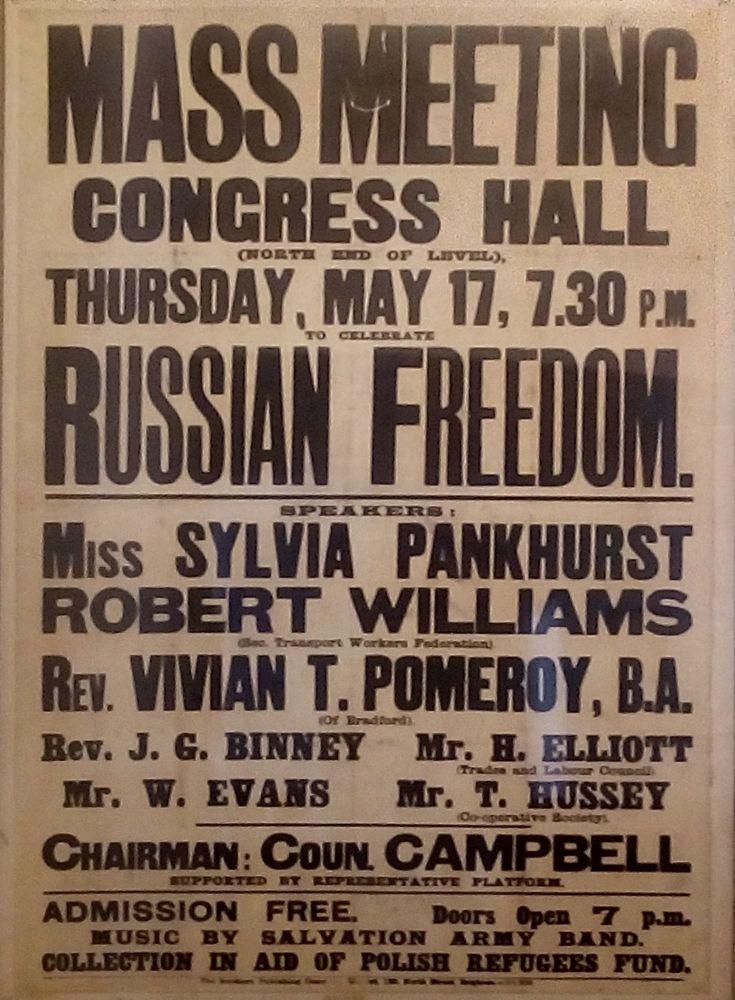 Sylvia Pankhurst poster