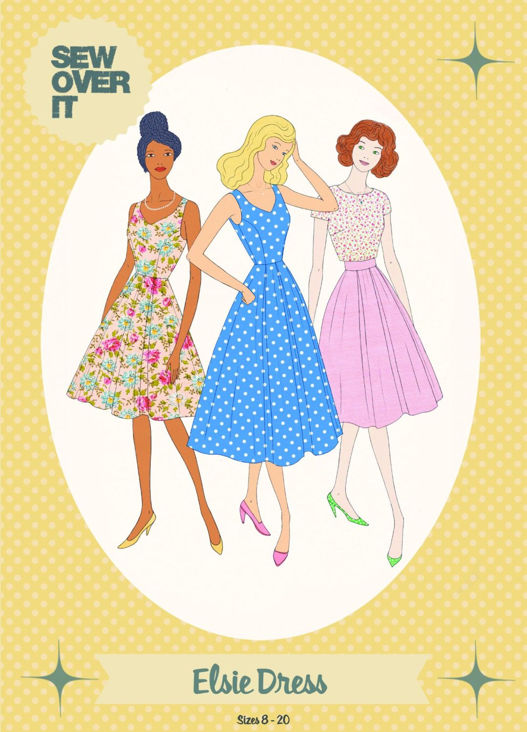 Elsie Dress and Skirt Sewing Pattern