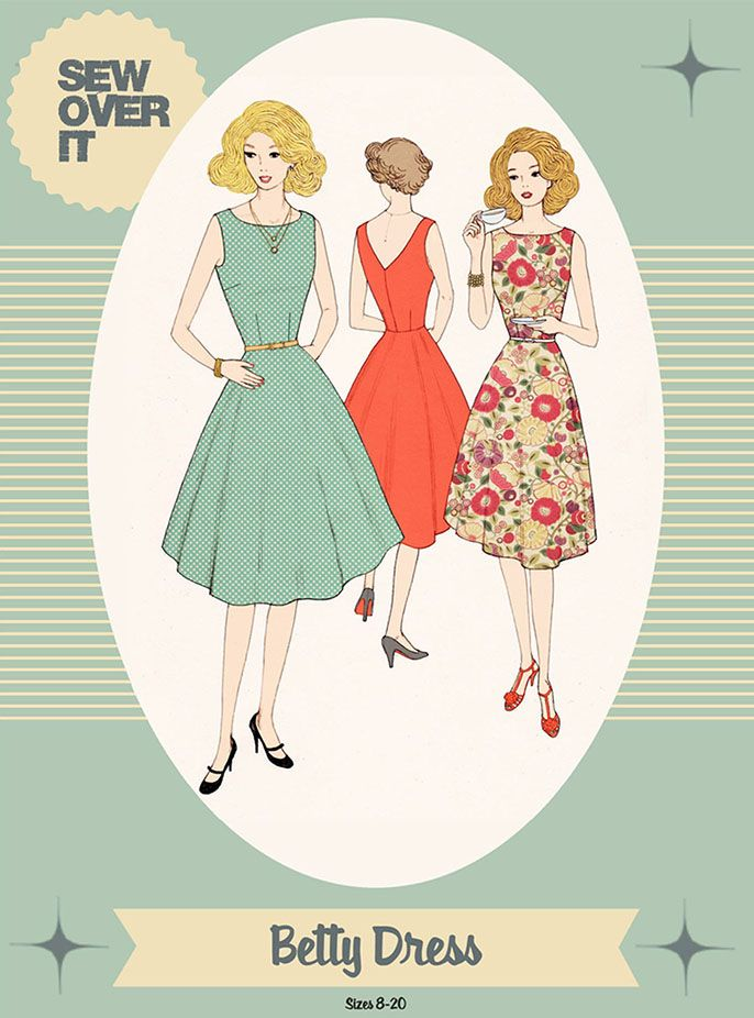 Betty Dress Sewing Pattern