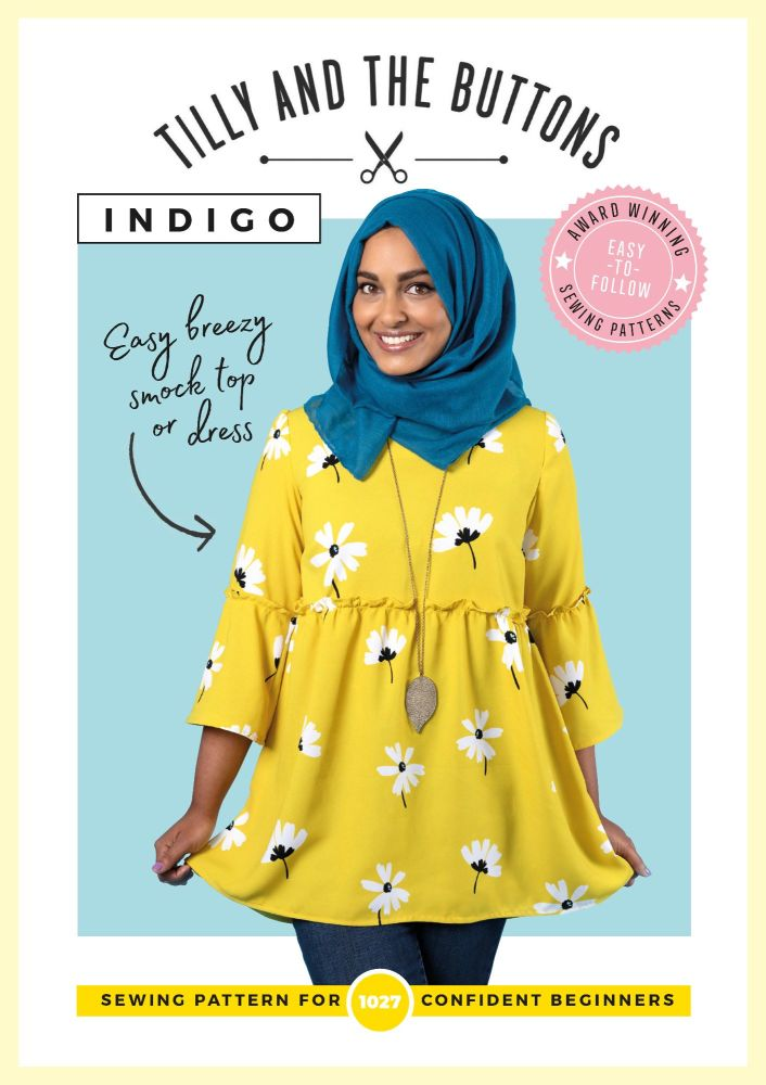 Indigo Dress and Top Sewing Pattern