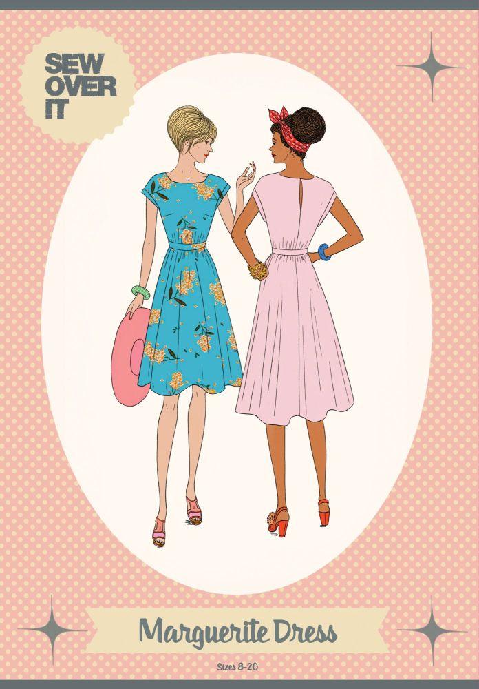Marguerite Dress Sewing Pattern