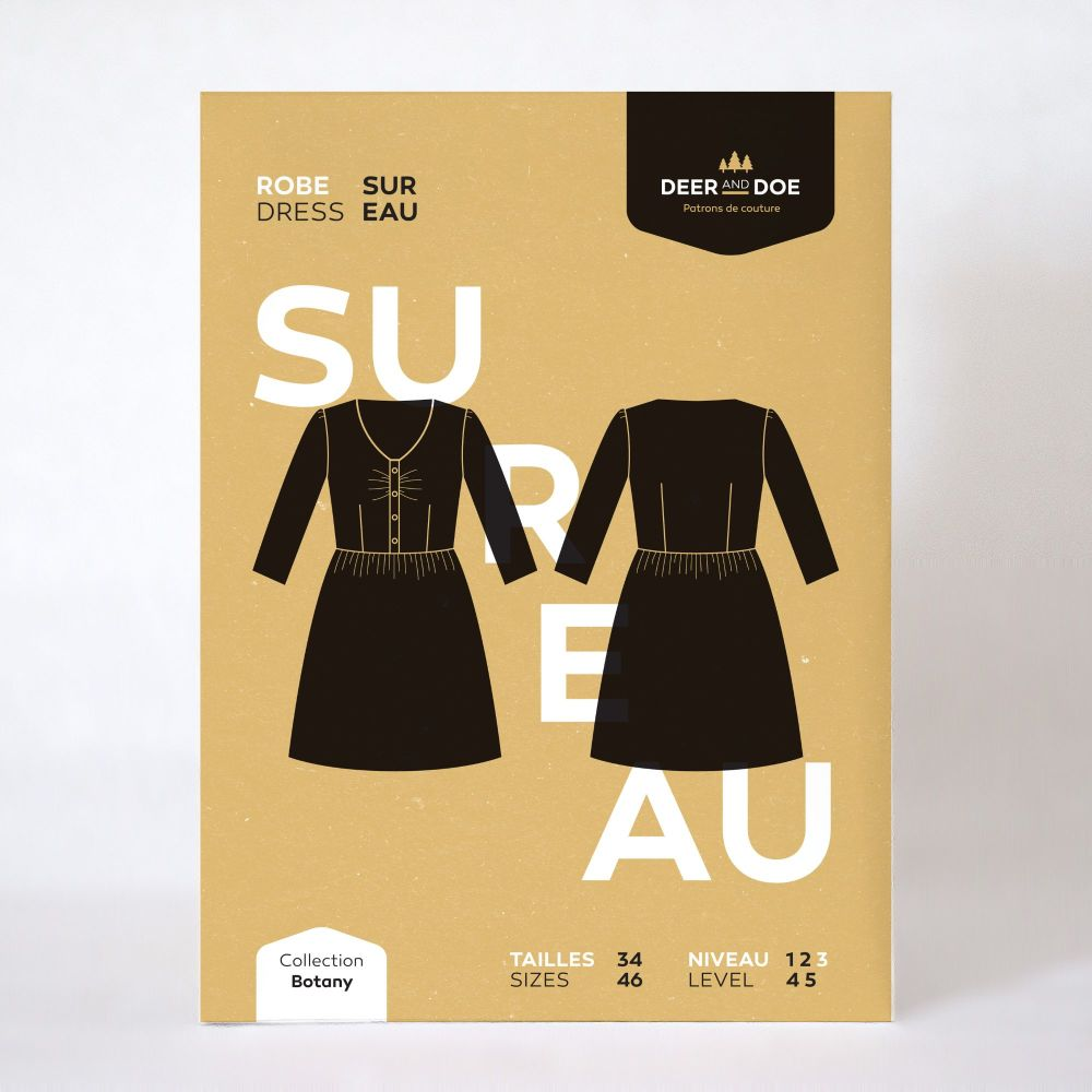 Sureau Dress Sewing Pattern