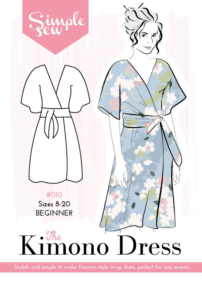 Kimono Dress Sewing Pattern