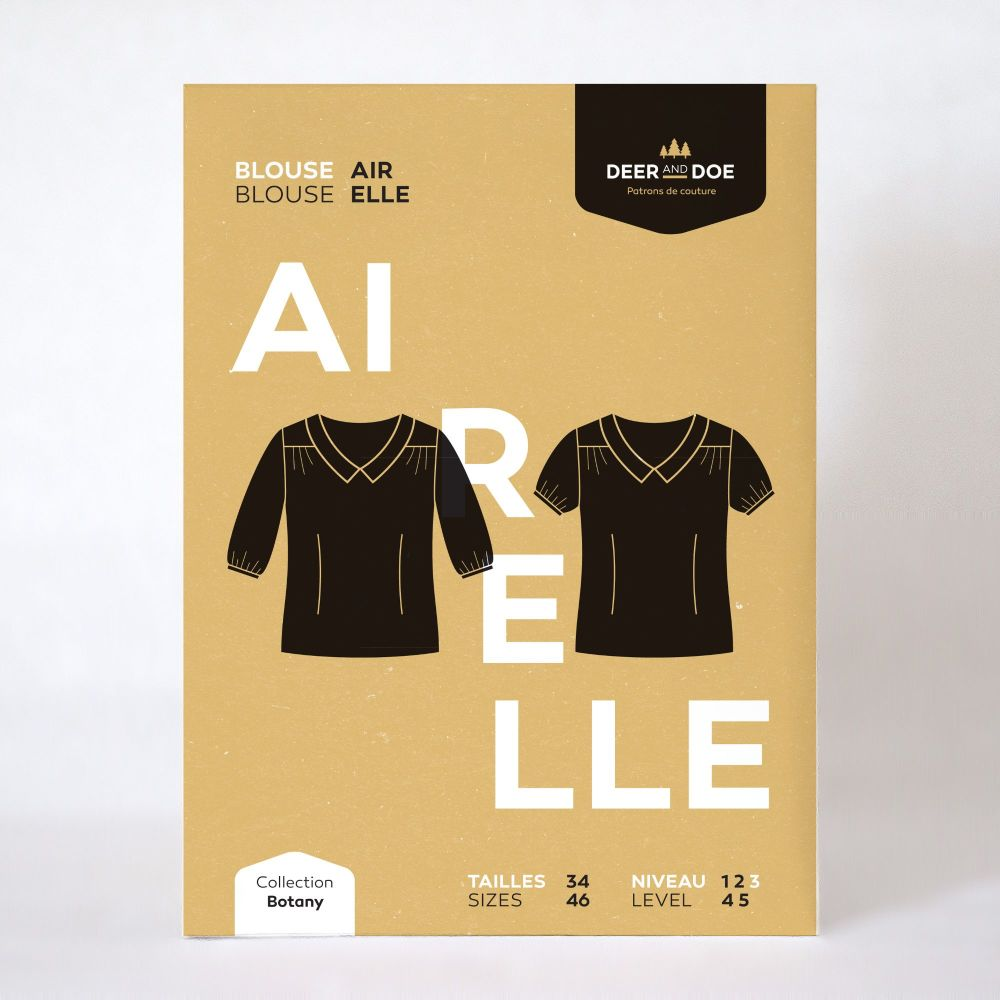 Airelle Blouse Sewing Pattern