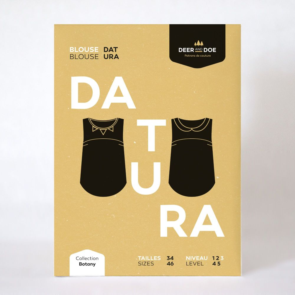 Datura Top Sewing Pattern