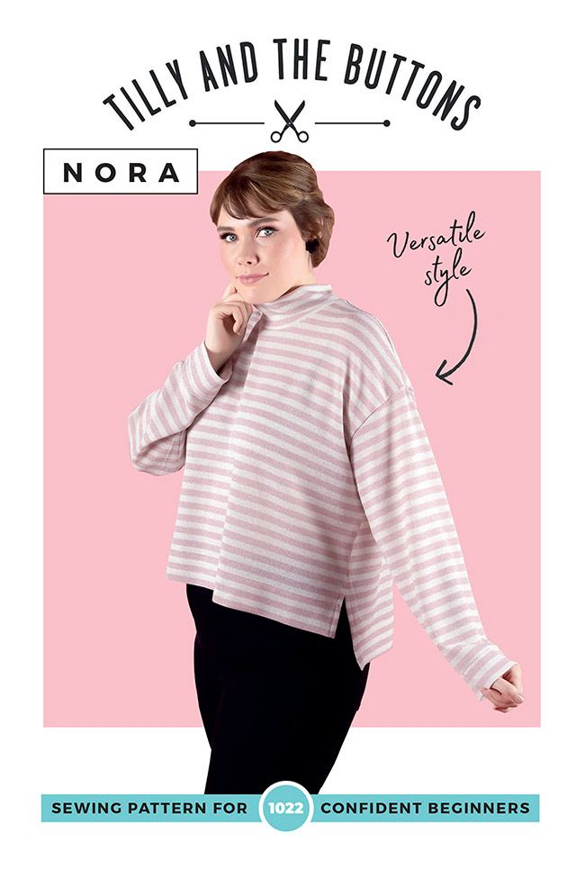Nora Top Sewing Pattern