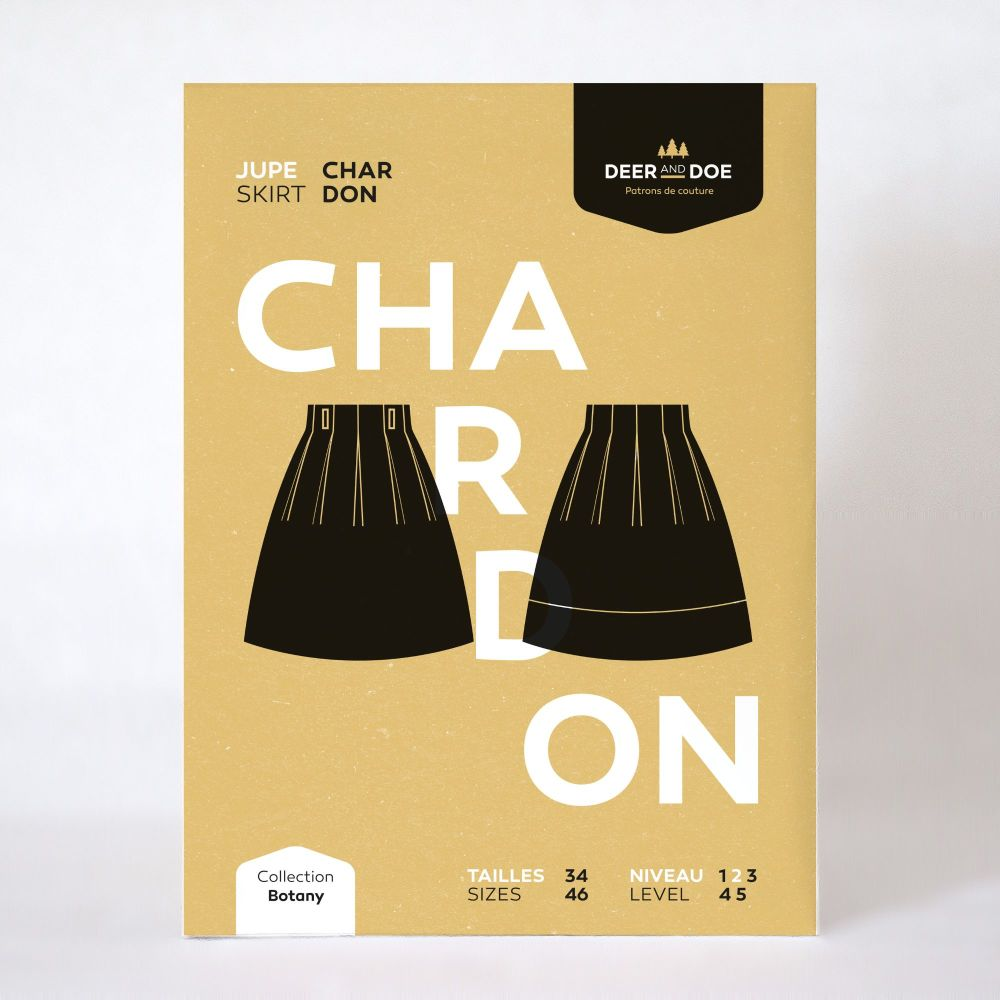 Chardon Skirt Sewing Pattern