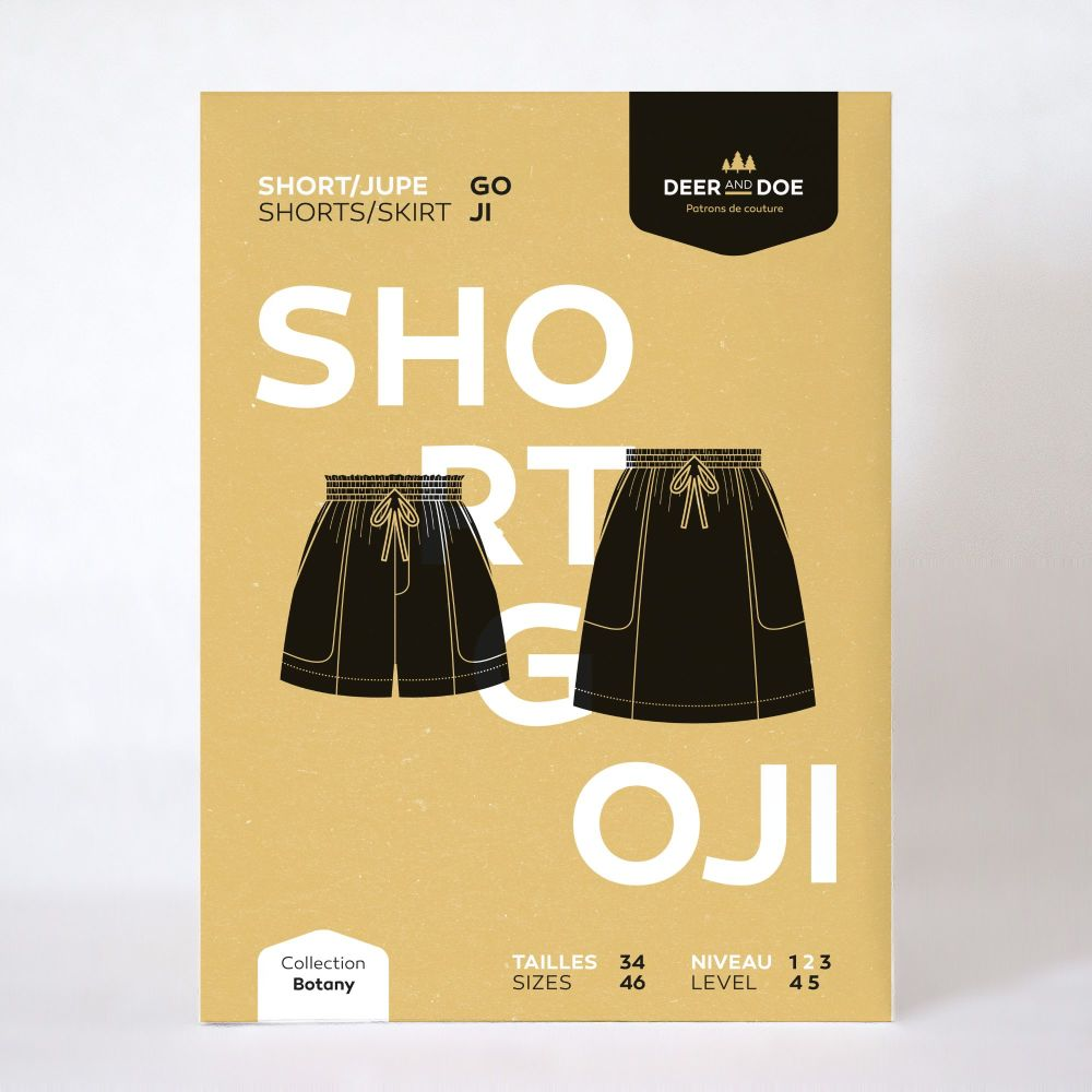 Goji Shorts and Skirt Sewing Pattern