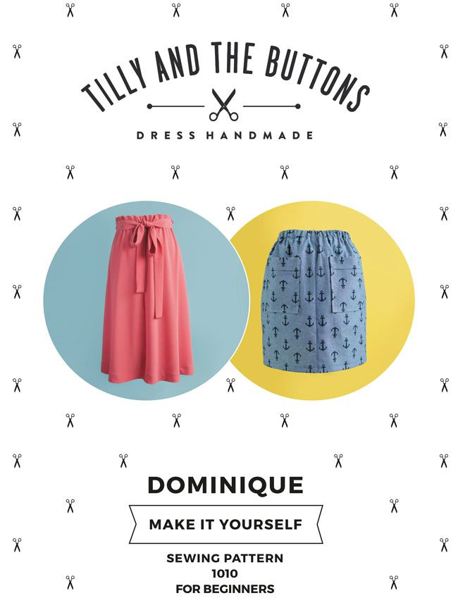 Dominique Skirt Sewing Pattern