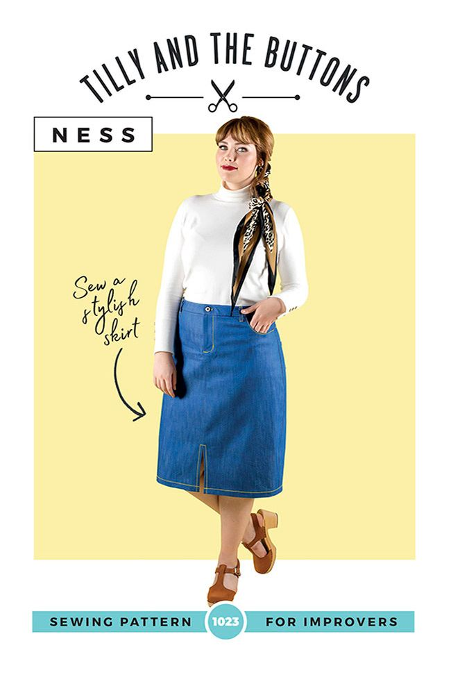 Ness Skirt Sewing Pattern
