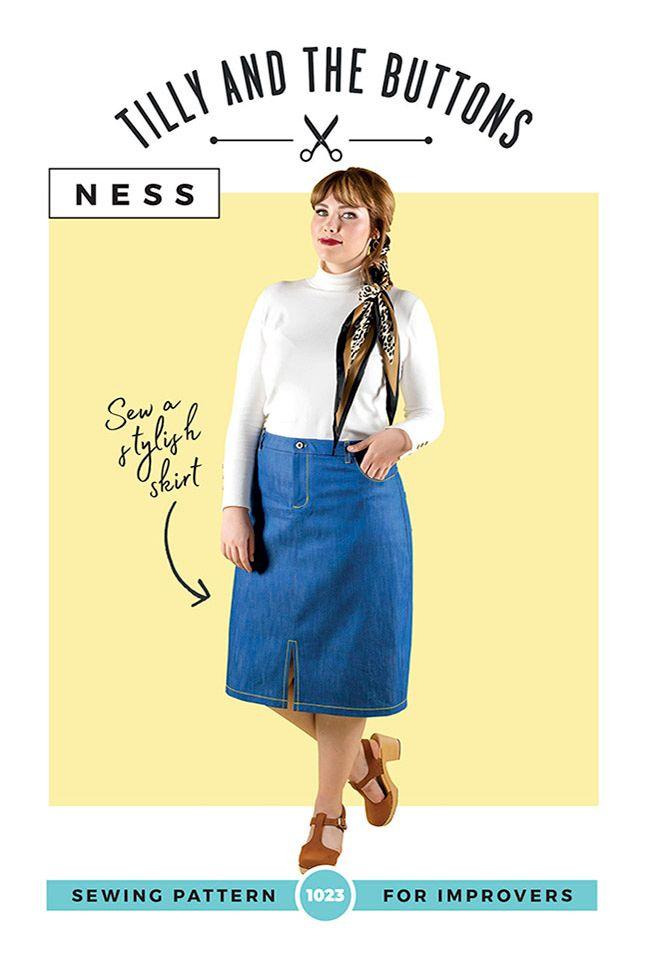 Ness Skirt Sewing Pattern