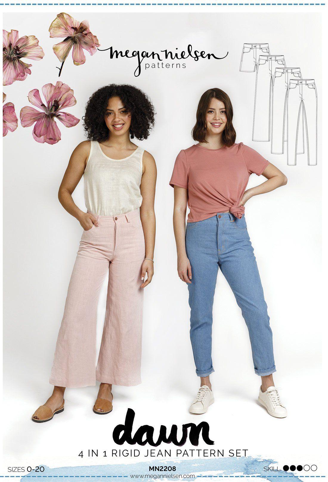 Dawn Jeans Sewing Pattern