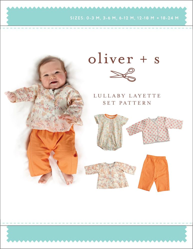 Lullaby Layette (0 - 24 Months) Sewing Pattern
