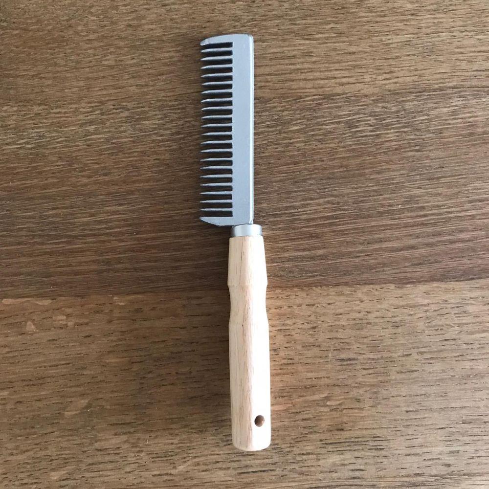Wooden Handle Comb