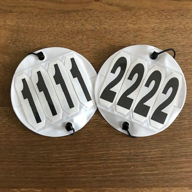 Bridle Numbers/ Competition Numbers