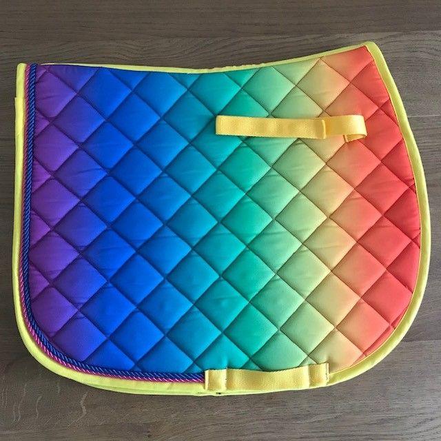 GP Saddle Pad, Rainbow