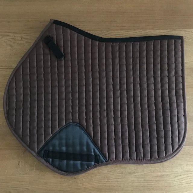 Close Contact Saddle Pad, Brown, Full Size