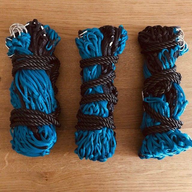 Haynets: pack of three (3 dark navy and blue)