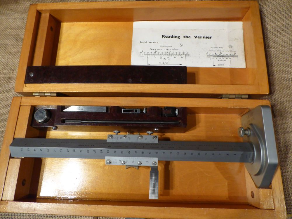 Chesterman No.369 Height Gauge - Metric & Imperial