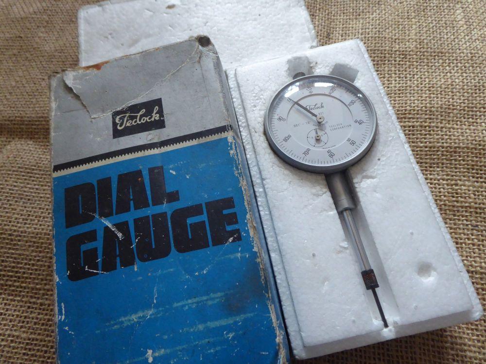 """Teclock A1 - 921 .001"""" - 1"""" Dial Gauge / DTI"""