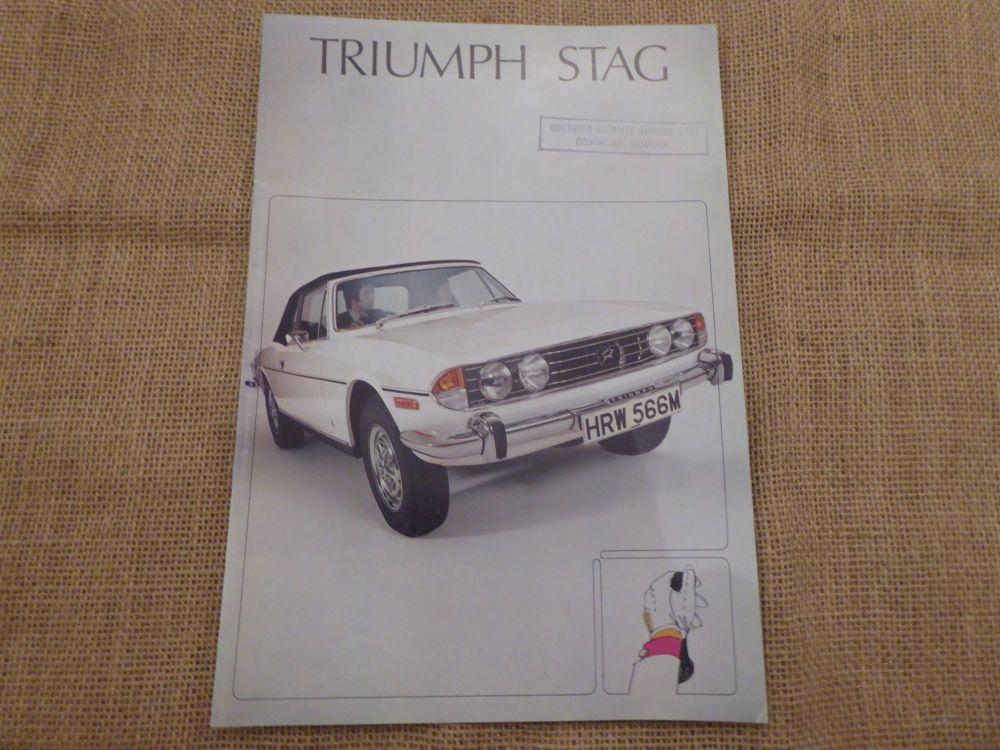 Triumph Stag Brochure - October 1973