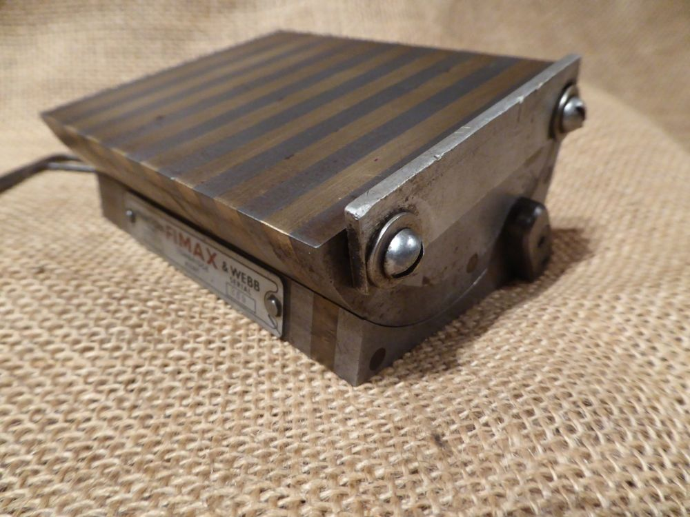 Fimax Type TA43 Magnetic  Angle Block - 4 3/16