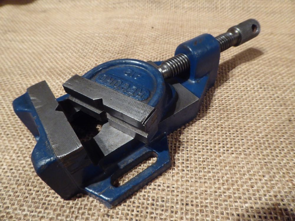 Record No.412 Drill Press Vice - 1 1/2