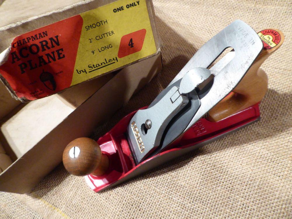 Chapman Tools Acorn By Stanley No.4 Plane