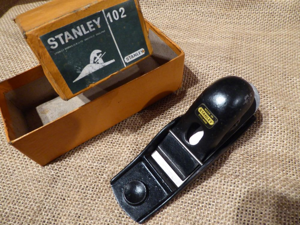 Stanley 102 Block Plane - Made In England