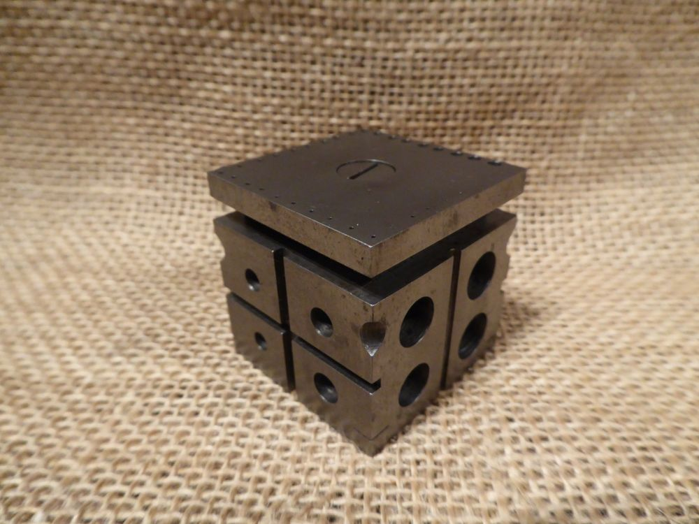 Watchmakers Staking Block Riveting Cube