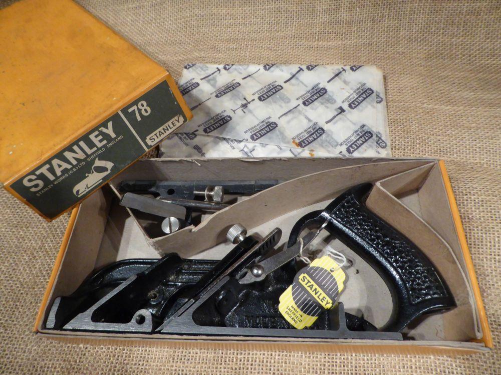 Stanley No.78 Duplex Rabbet / Rebate Plane