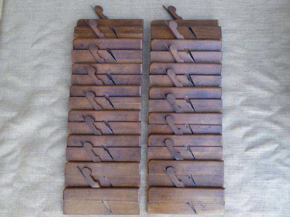 Nice Rare Part Set Of Shepley (Circa 1780 - 99) Hollow & Round Planes