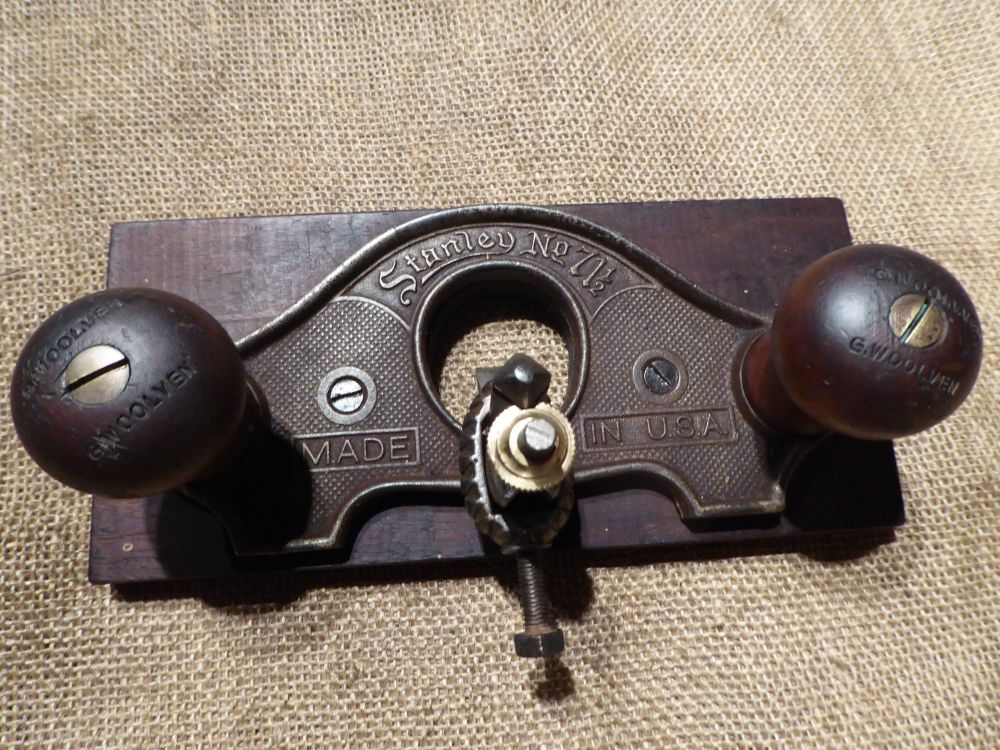 Stanley 71 1/2 Type 5 Closed Mouth Router Plane