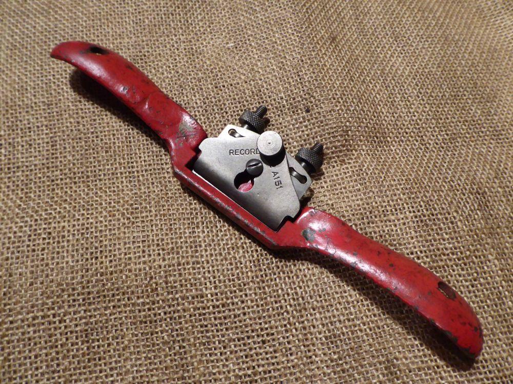 Record No. A151 Flat Sole Spoke Shave