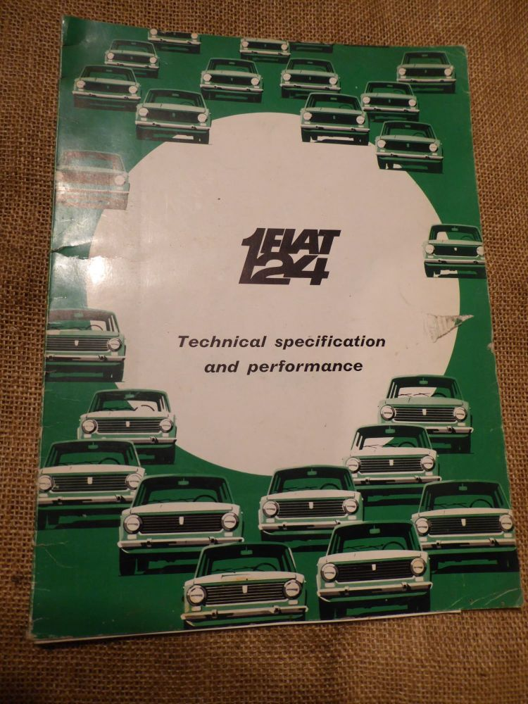Fiat 124 Technical Specification And Performance 1966
