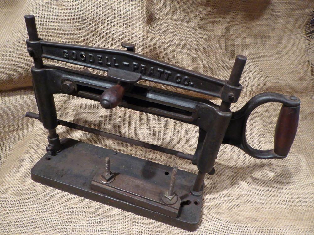 Goodall Pratt Mitre Box Saw - Patent June 20 1899
