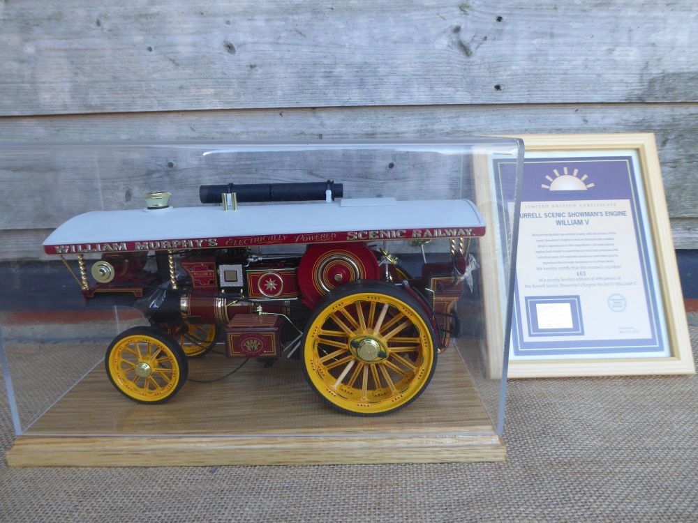 Midsummer Models Traction Engine, William V Burrell Scenic Showman's Engine No.3610