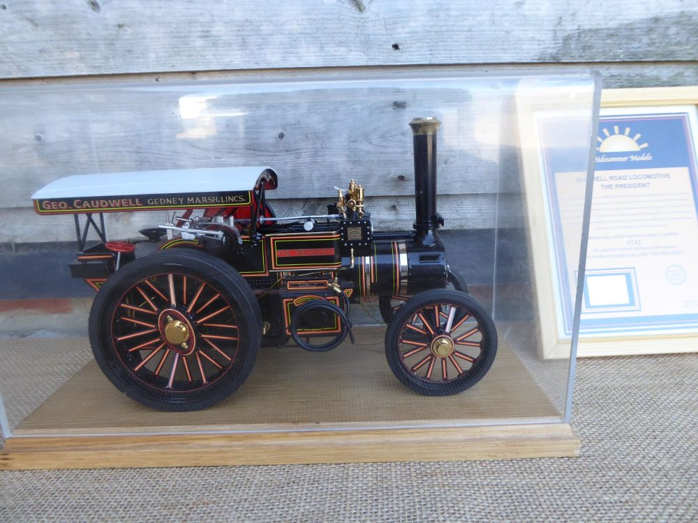 Midsummer Models Traction Engine, The President - Burrell Road Locomotive N