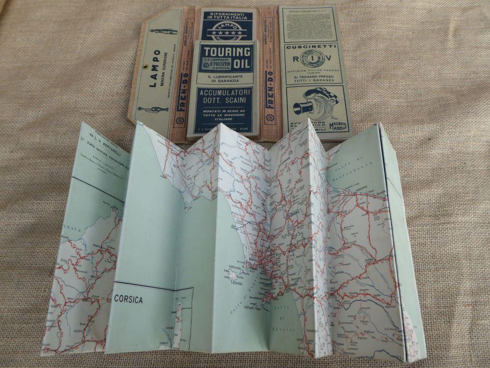 Touring Club Italiano - Carta Automobilistica Foglio 1 Map