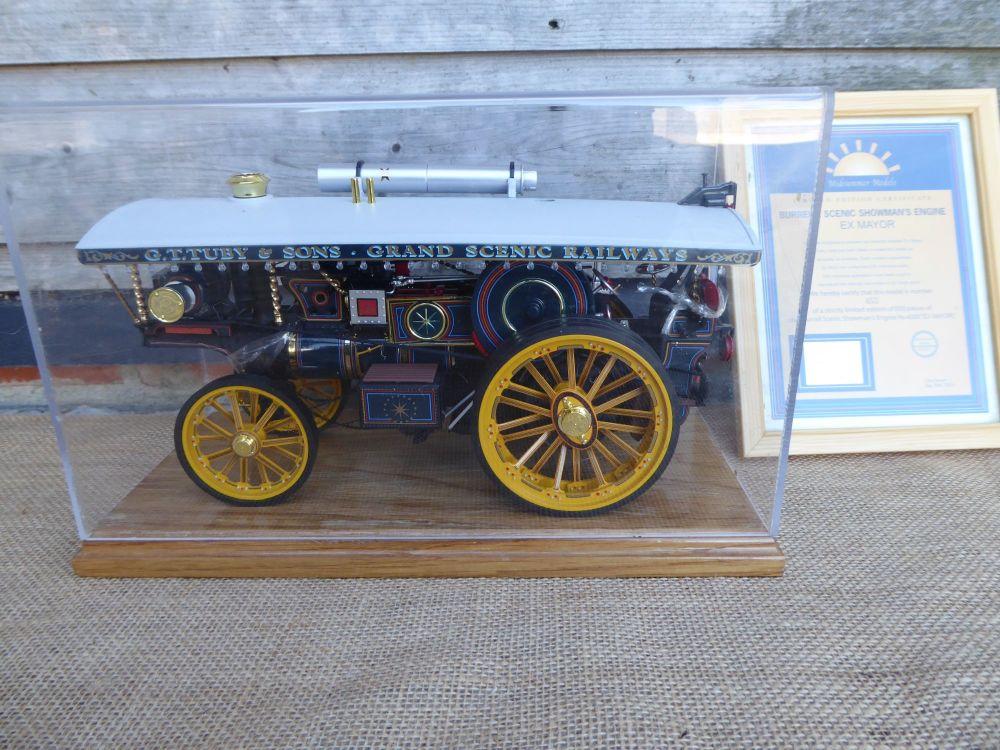 Midsummer Models Traction Engine: Ex Mayor No.4000 - Burrell Scenic Showman's Engine