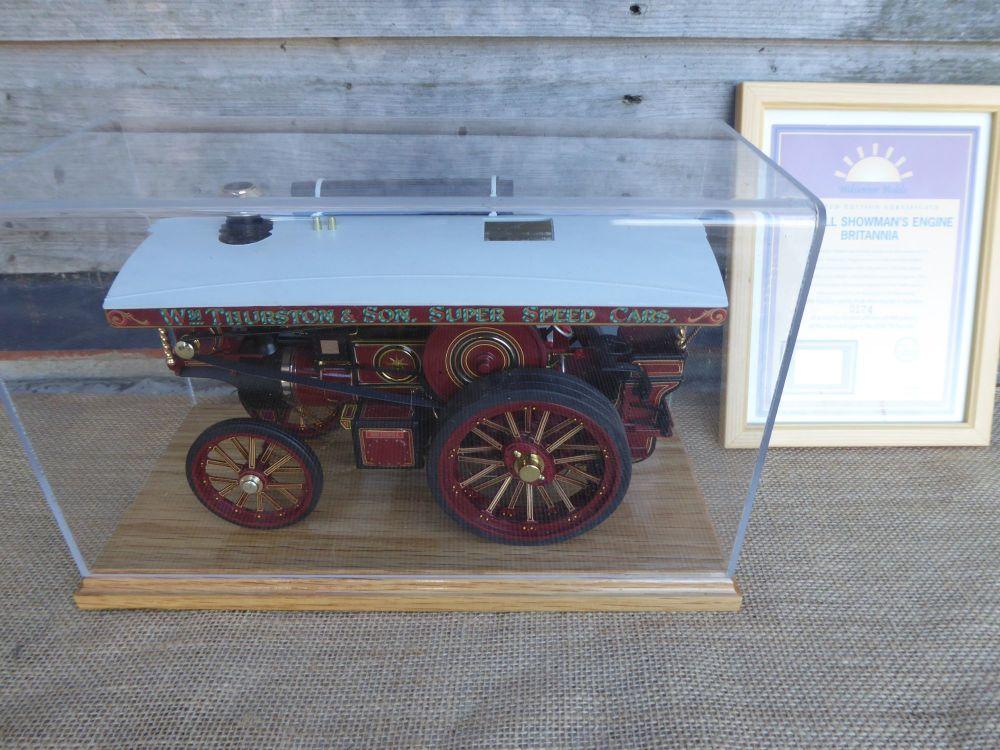 Midsummer Models Traction Engine: Britannia No.2668 - Burrell Showman's Eng