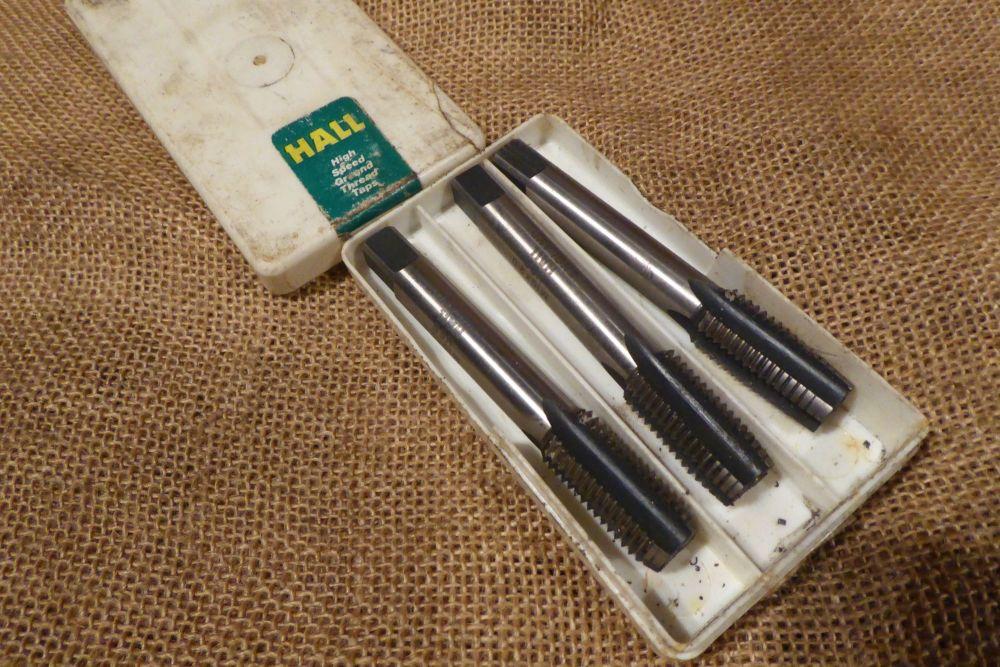 Set Of 3 Hall M16 x 2.0 Hand Taps HSS
