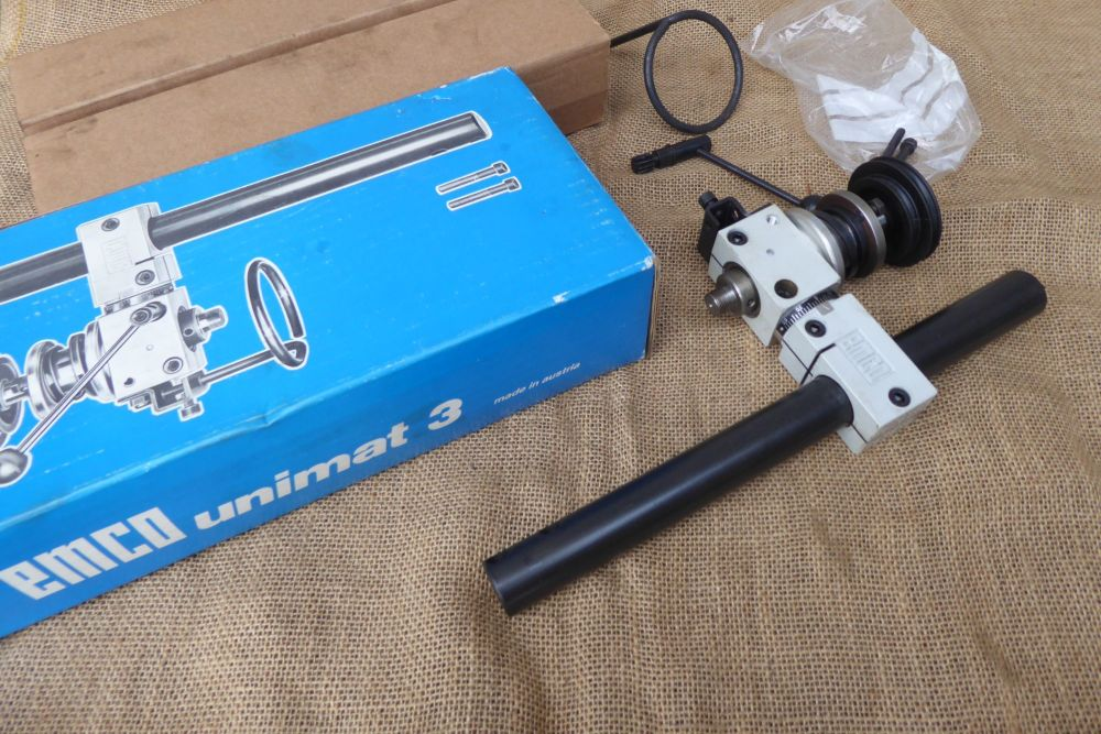Emco Lathe Spares: Emco Unimat 3 Vertical Drilling And Milling Attachment -
