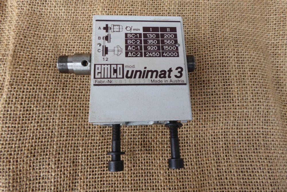 Emco Lathe Spares: Emco Unimat 3 Headstock
