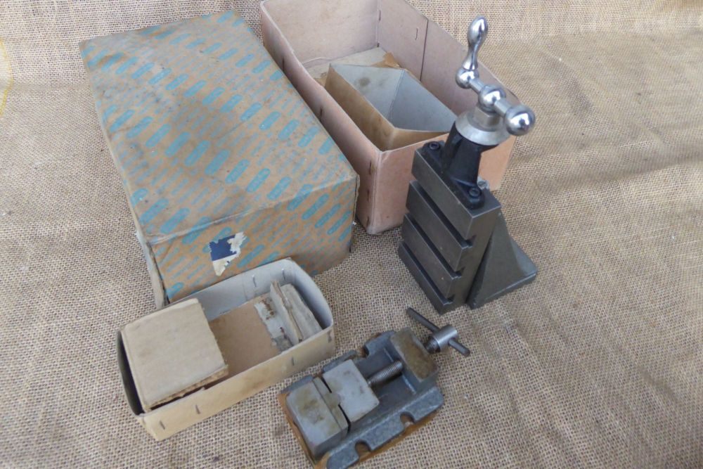 Myford MA67/1 Fixed Vertical Slide With Myford 71 Vice