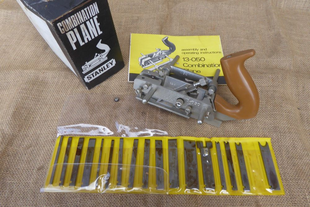 Stanley 13-050 Combination Plane With Cutters