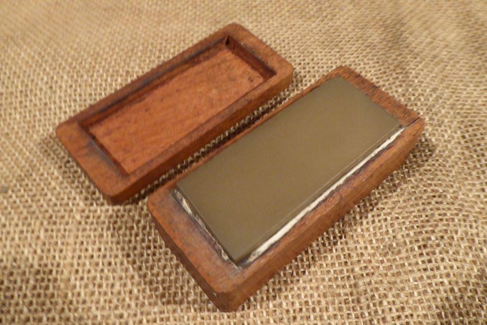 "Vintage 3"" x 1 1/4"" Translucent Sharpening Stone"